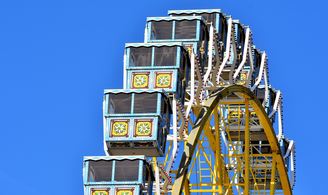 Have some fun and enjoy on biggest wheel cart