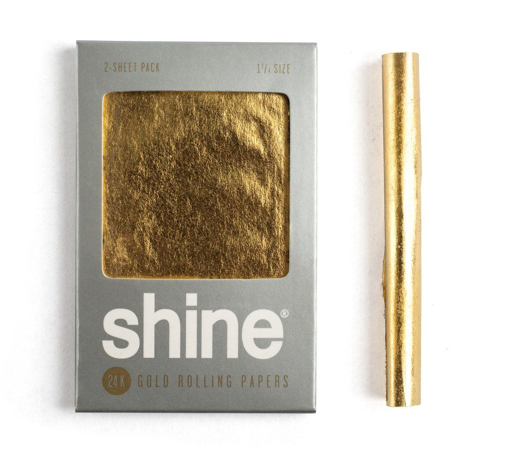 Be Trendy With New Gold Papers Smoke Candy