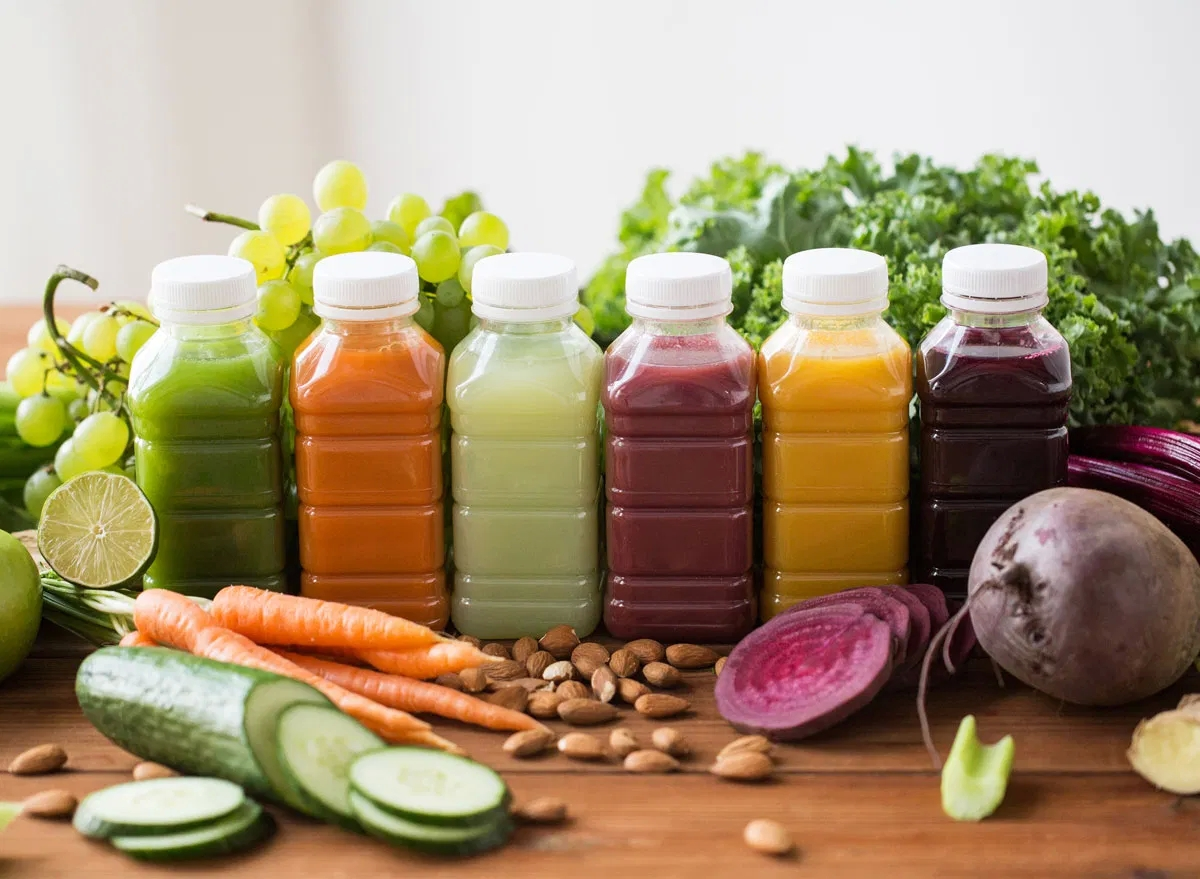 Online Organic Smoothies Concept