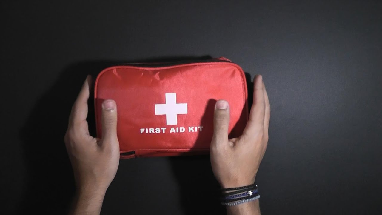 A car first aid kit can help save a person's life