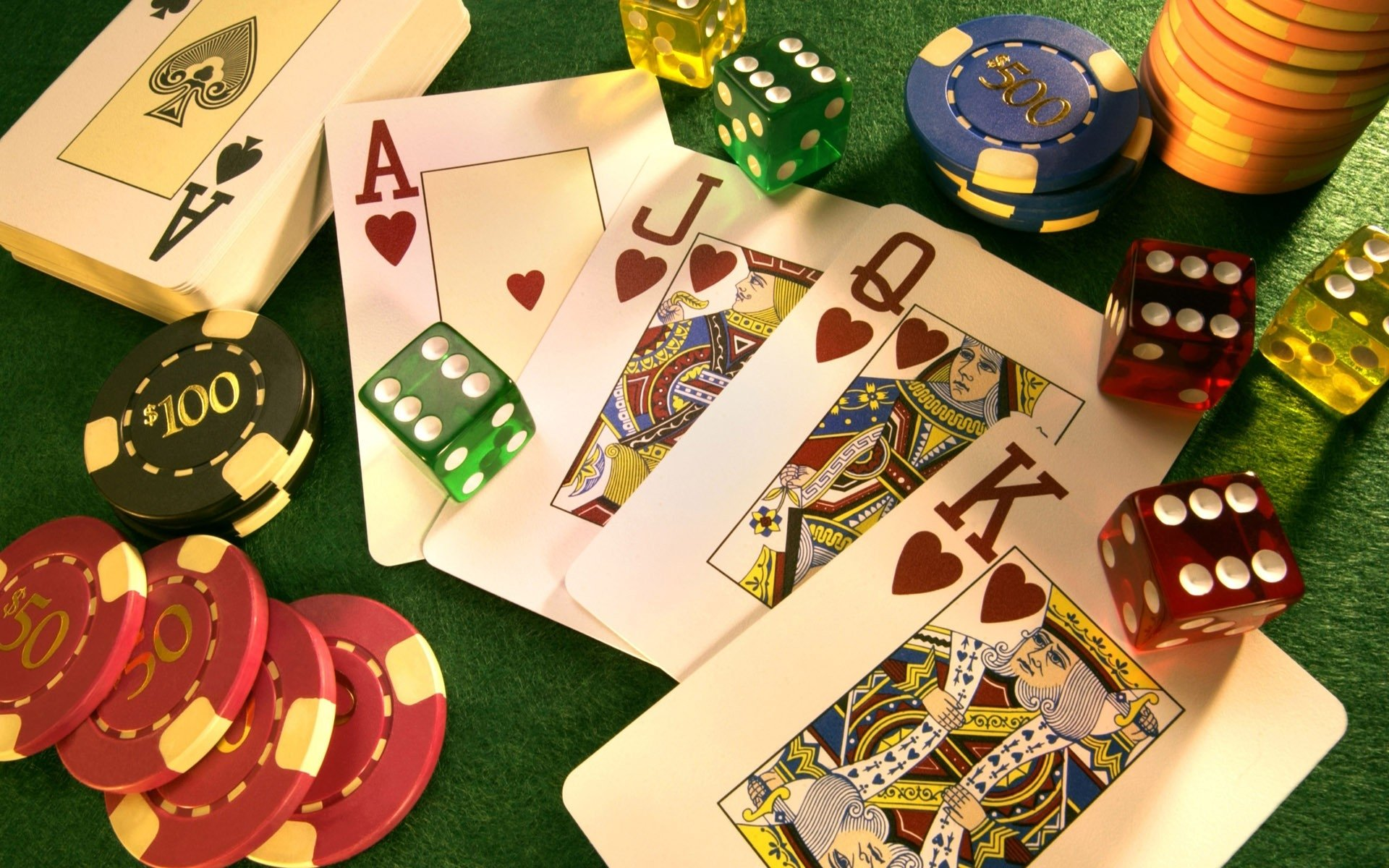 Poker online only for daring people