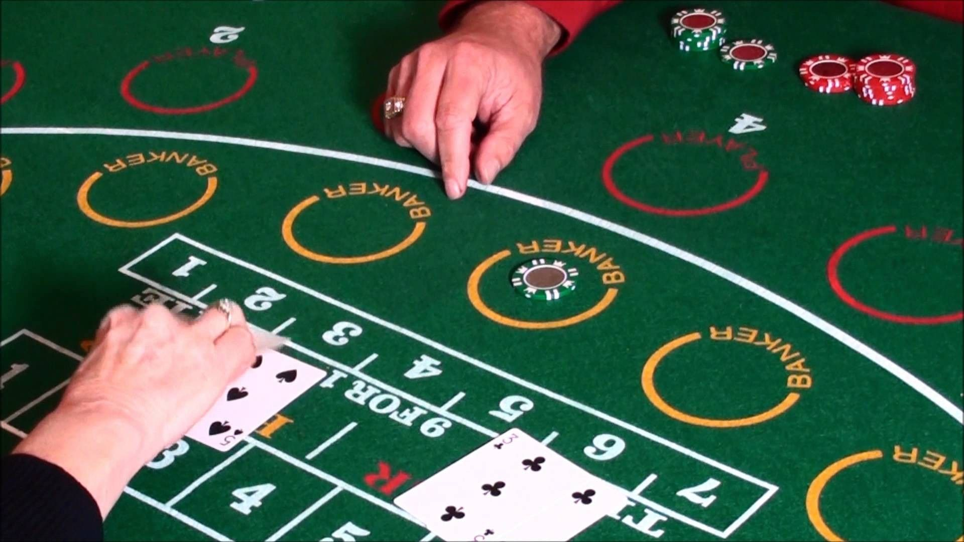 Baccarat games consists of legal authentication gaming features
