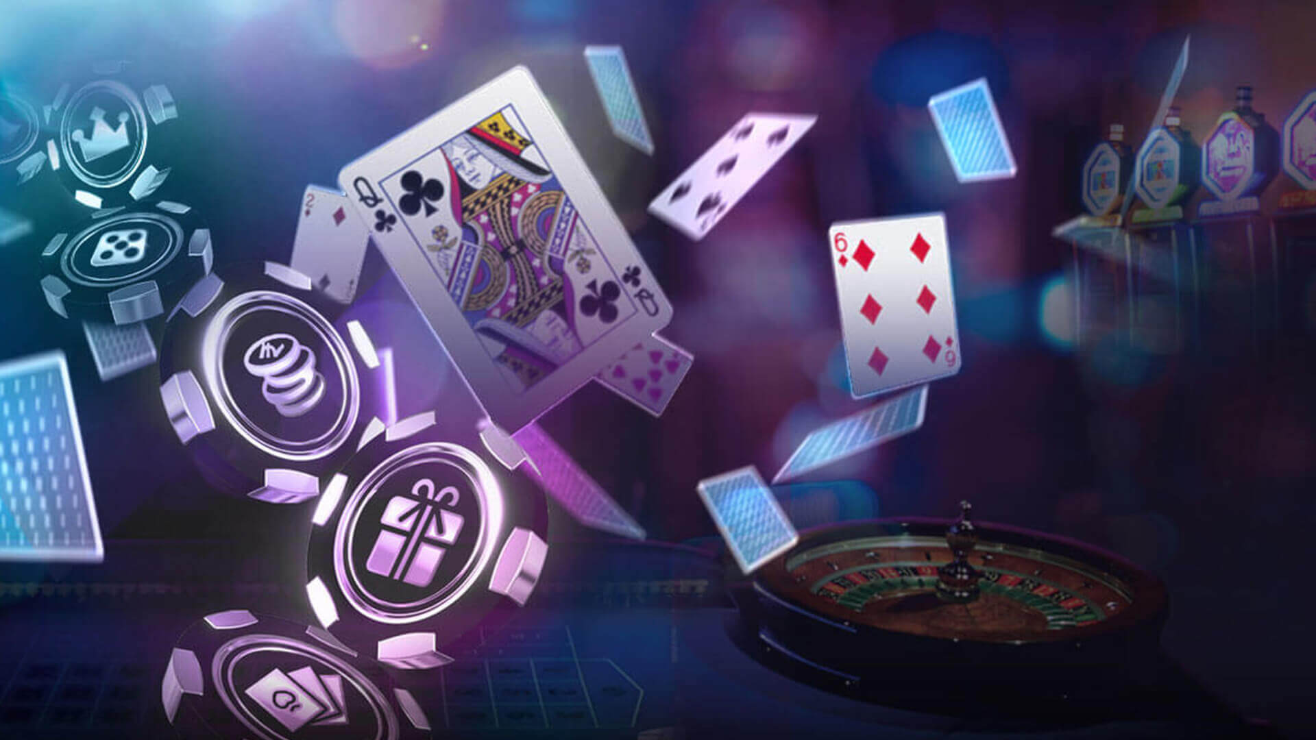 Some specialties and features regarding online casinos when compared with land