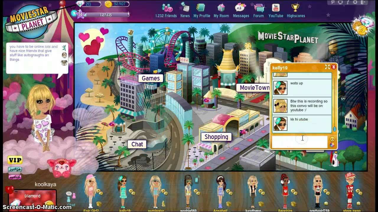 Now, you have the facility to cheat moviestarplanet through the website