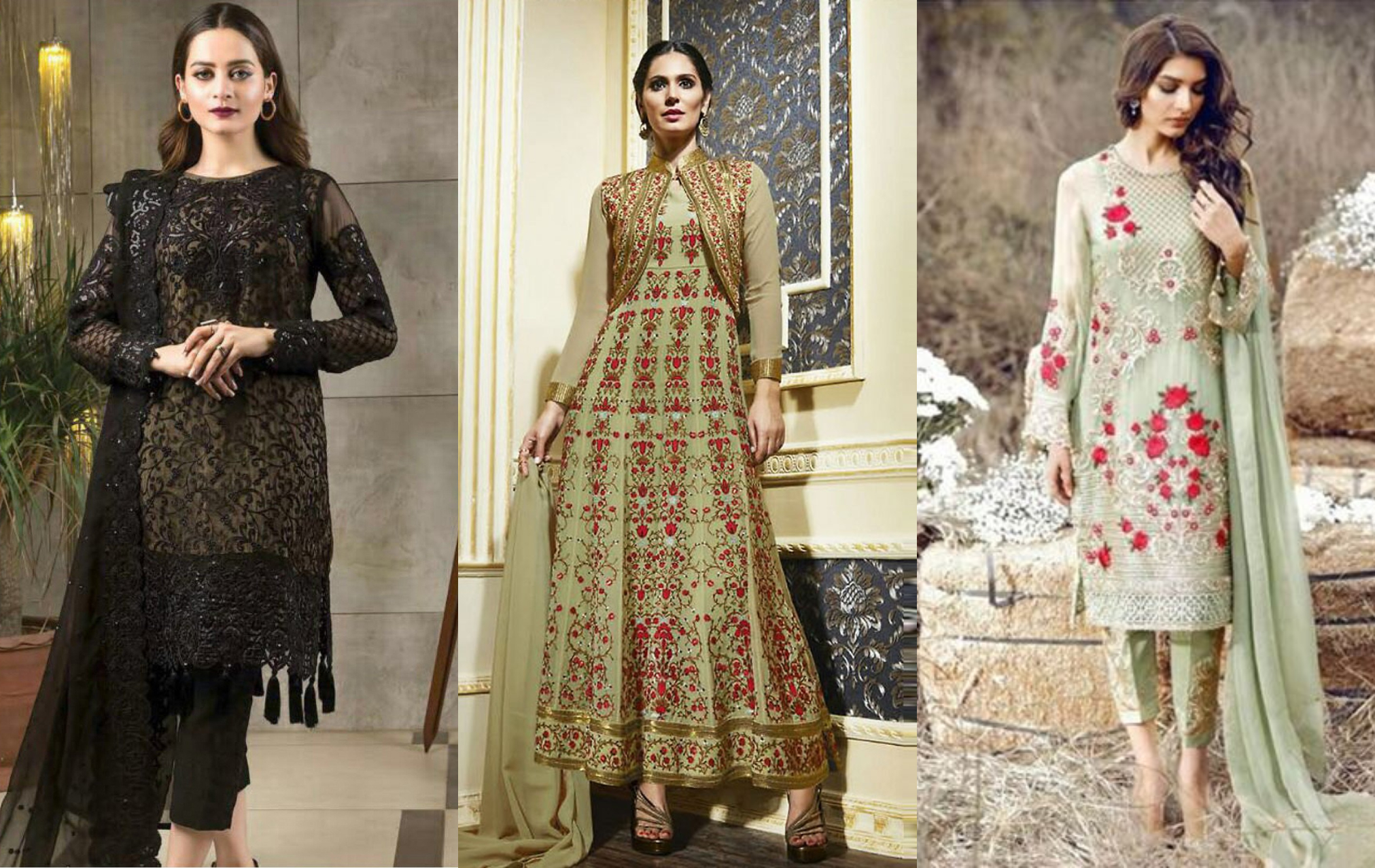 Now you can buy a shalwar kameez through the web