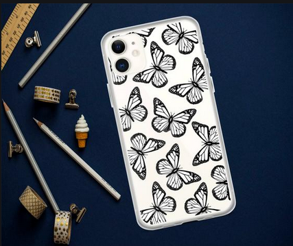 Unique And Attractive Blue butterfly phone case