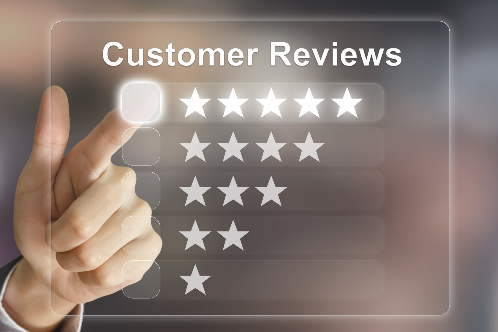 Online reviews advantages
