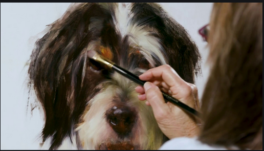 In your home, a pet portrait made of the highest quality will look great
