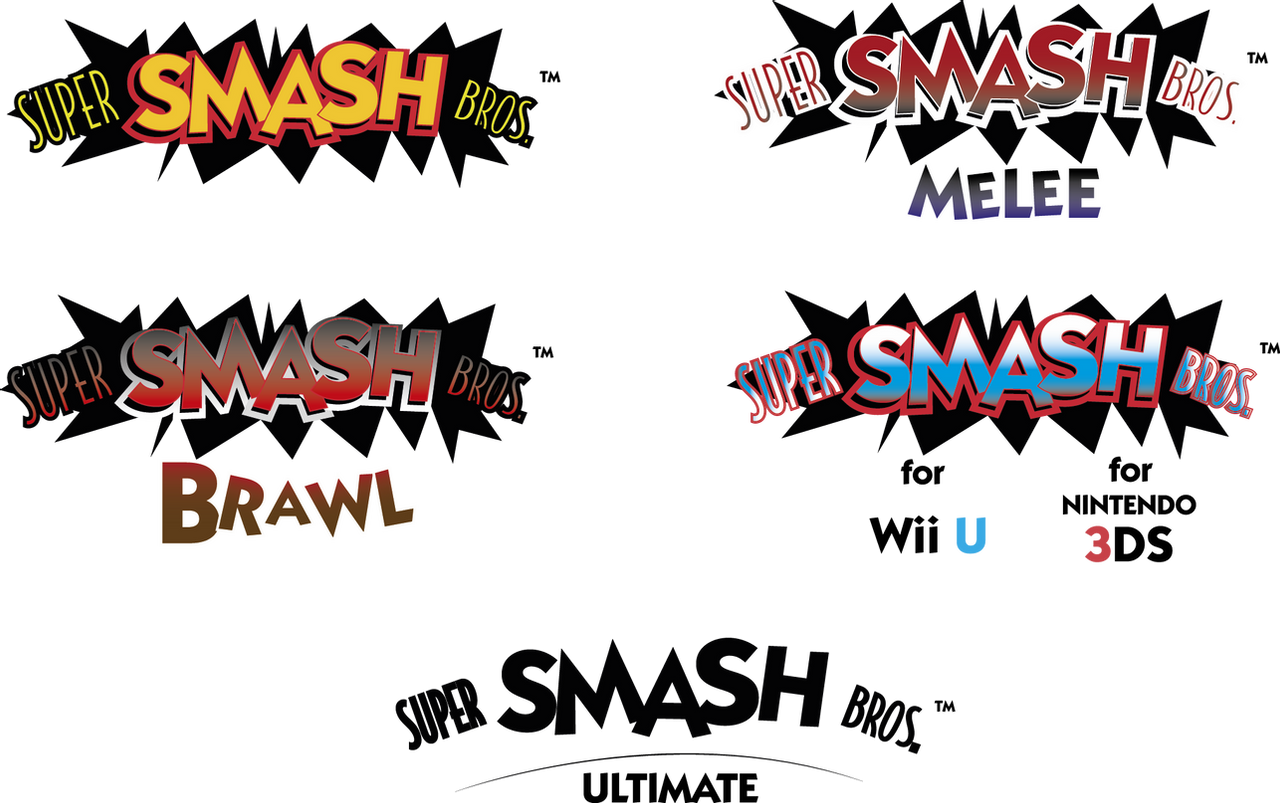 The Lettered Masterpiece Of Smash Bros Font