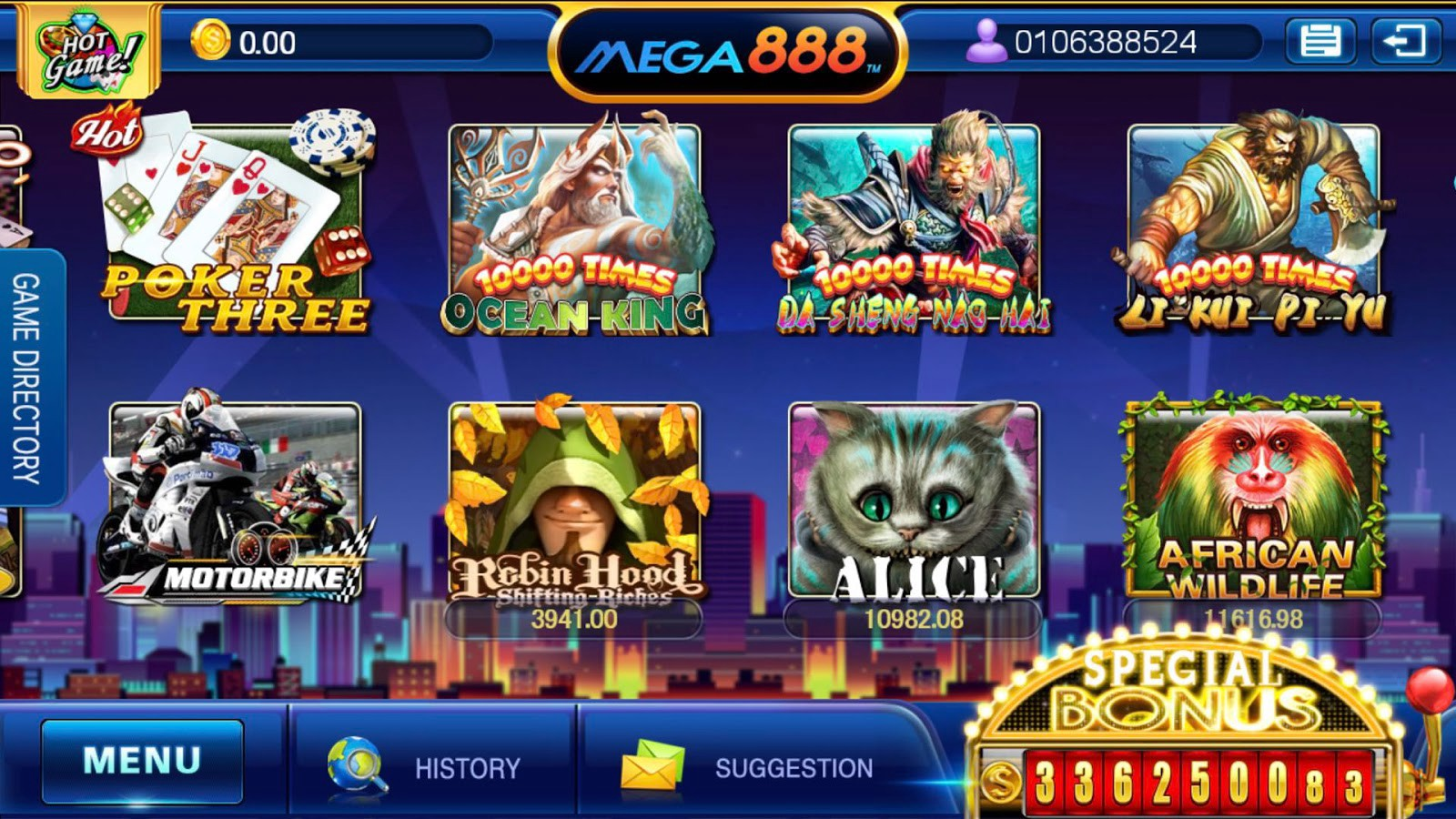 Overview of cellular casino games